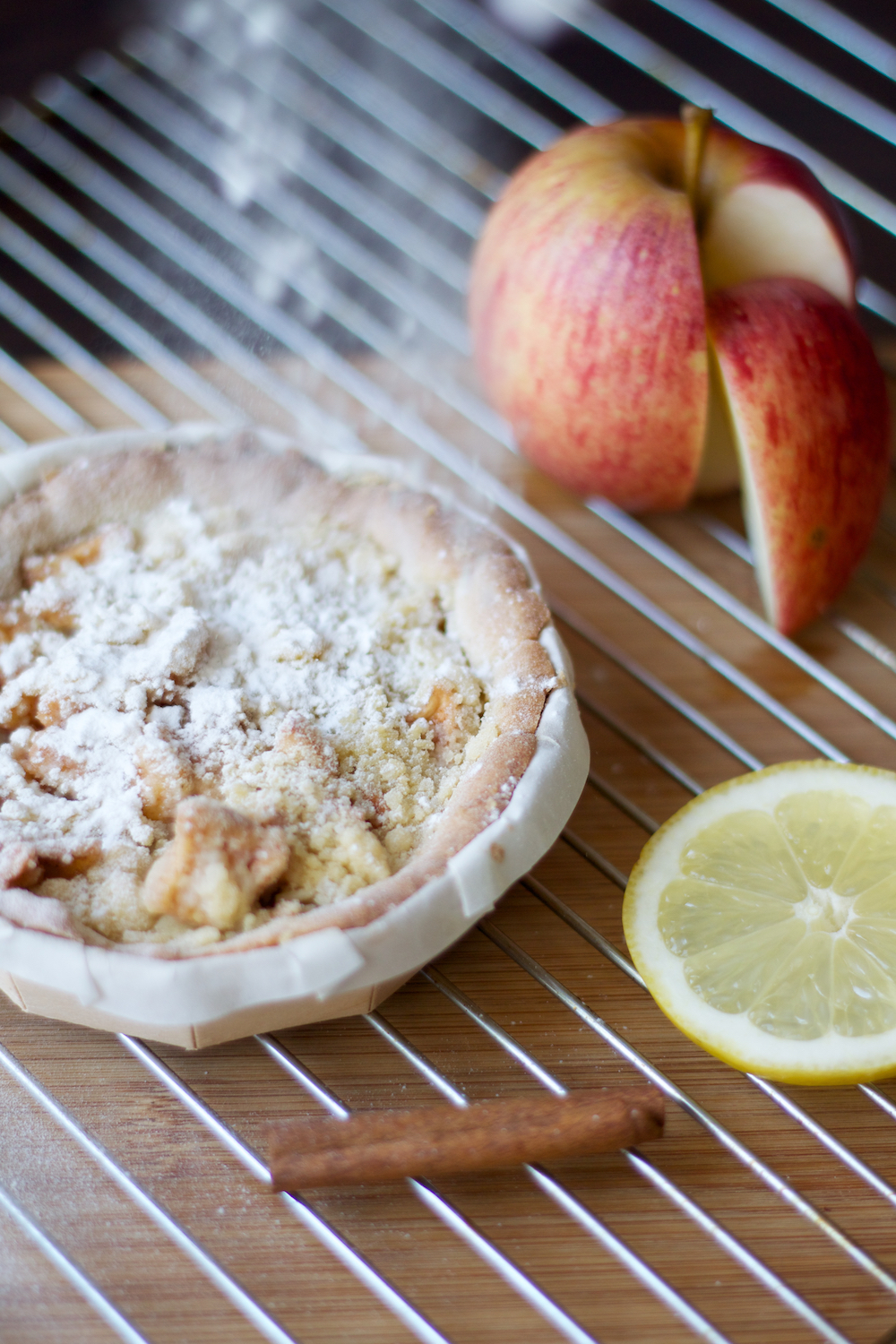GINYJEN Fotografie apple crumble